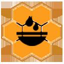 Hunajaa Iholle